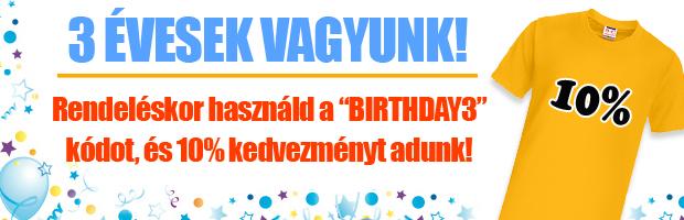 Születésnapi Akció