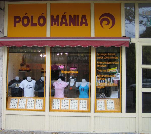 Pólómánia bolt