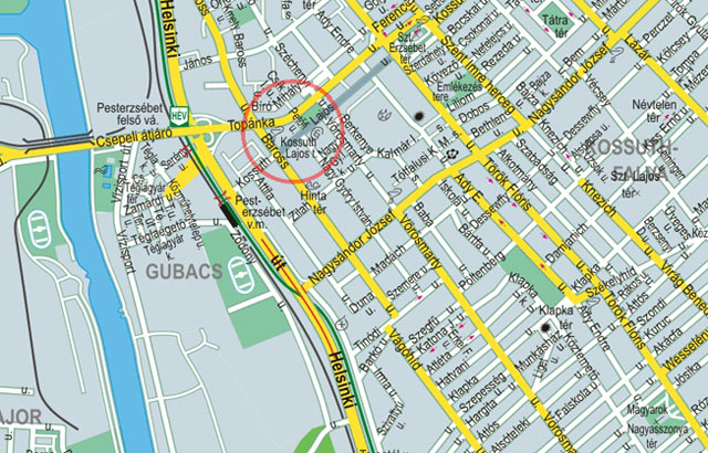 Pólómánia bolt térkép