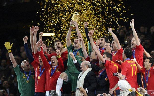 Spanyolország VILÁGBAJNOK