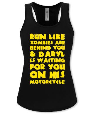 run like zombies are
